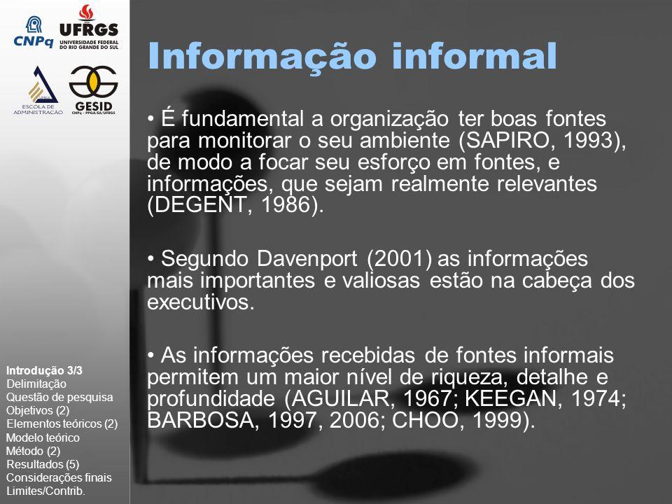 Informação informal