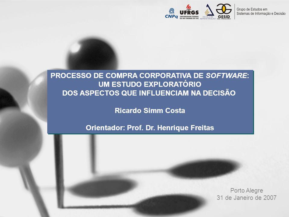 capa PROCESSO DE COMPRA CORPORATIVA DE SOFTWARE: