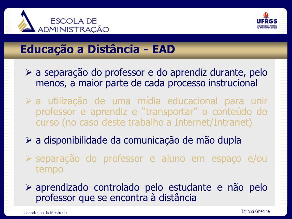Educação a Distância - EAD