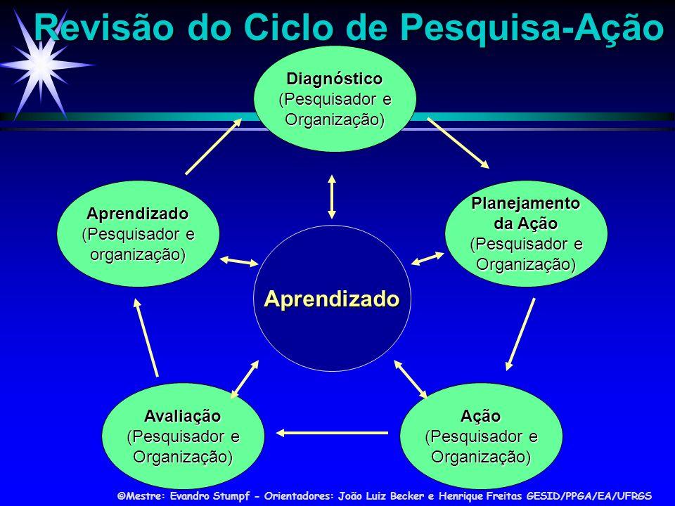 Revisão do Ciclo de Pesquisa-Ação