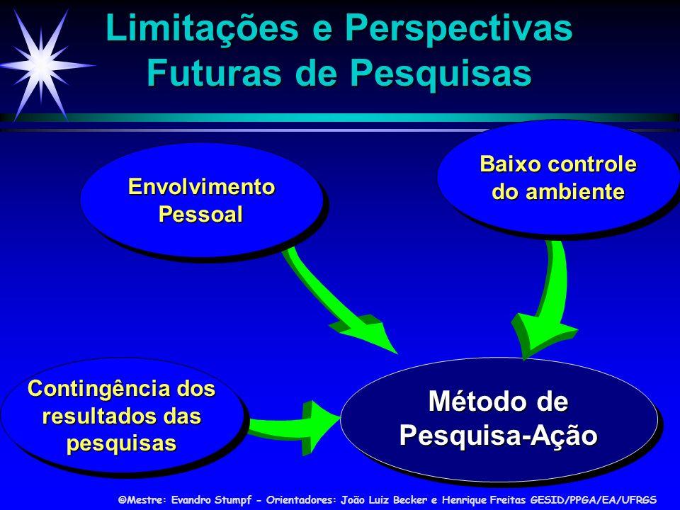 Limitações e Perspectivas