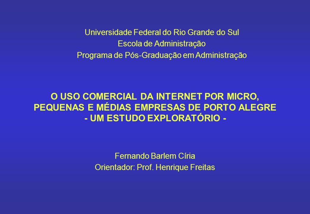 Fernando Barlem Círia Orientador: Prof. Henrique Freitas