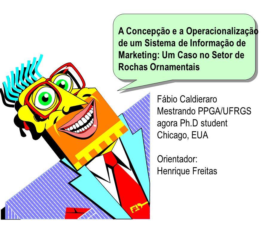 A Concepção e a Operacionalização de um Sistema de Informação de Marketing: Um Caso no Setor de Rochas Ornamentais
