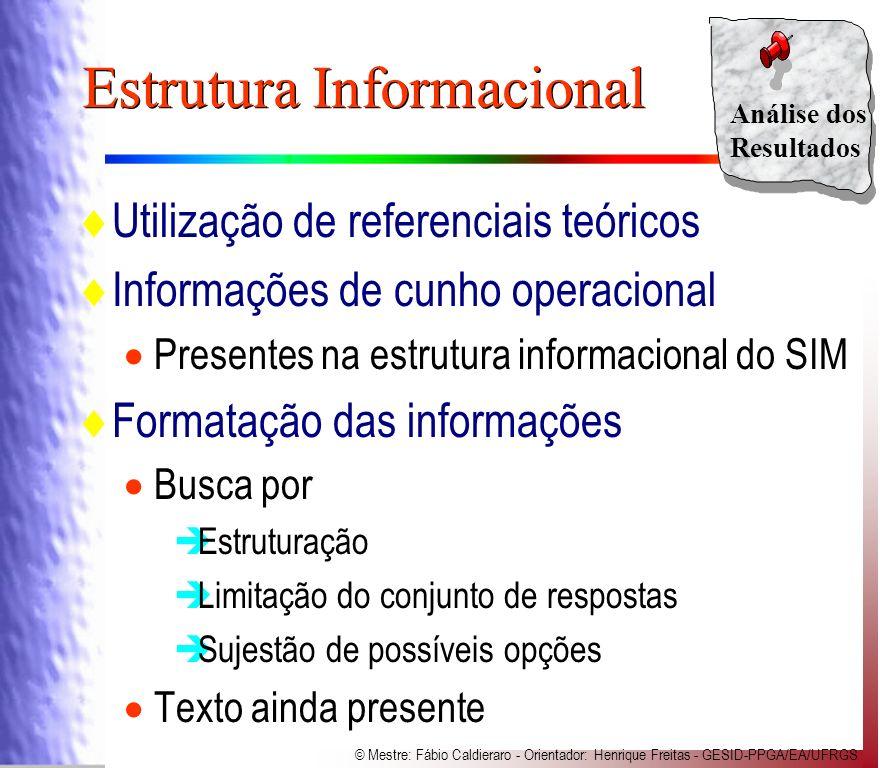 Estrutura Informacional