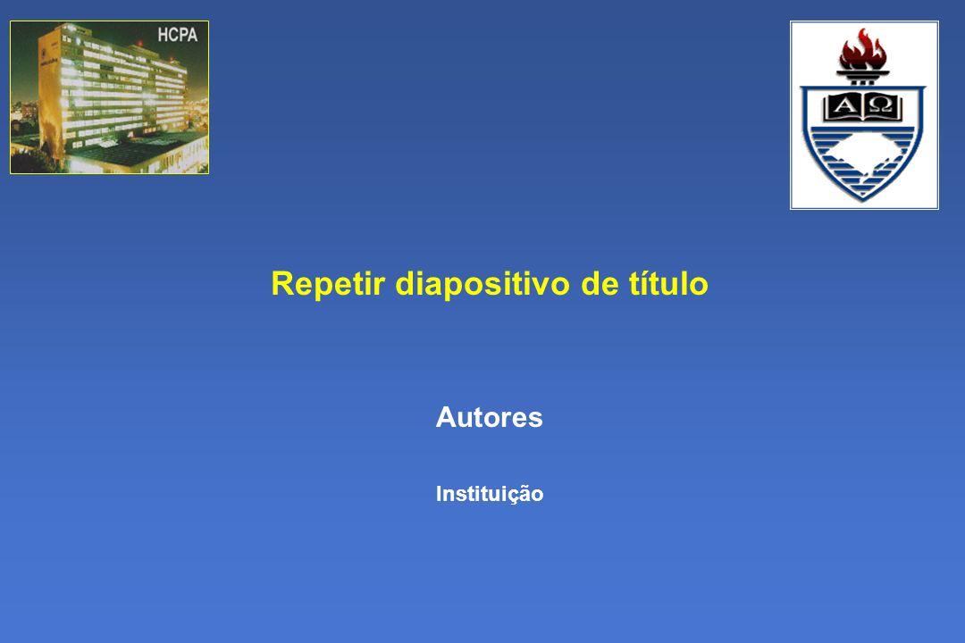 Repetir diapositivo de título