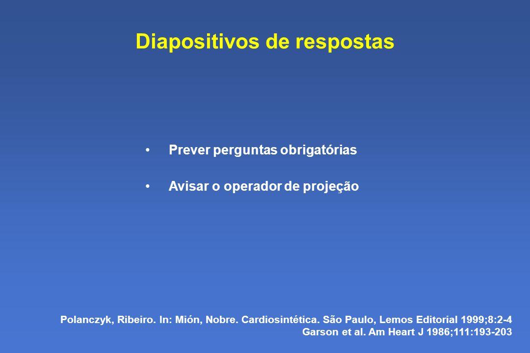 Diapositivos de respostas