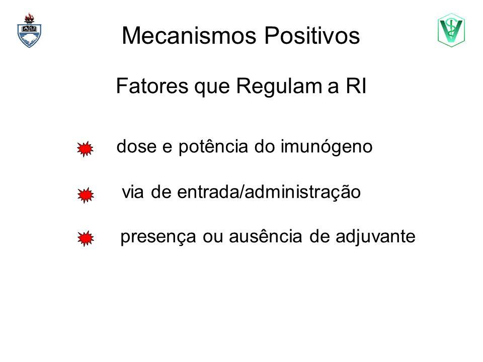 Mecanismos Positivos Fatores que Regulam a RI