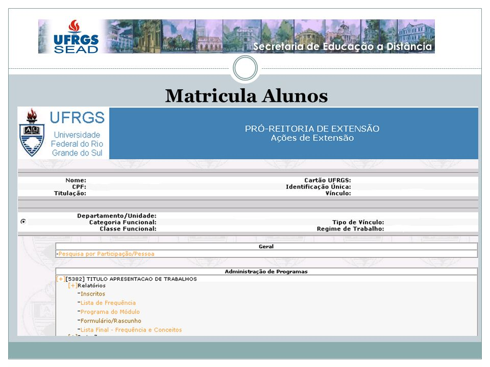 Matricula Alunos