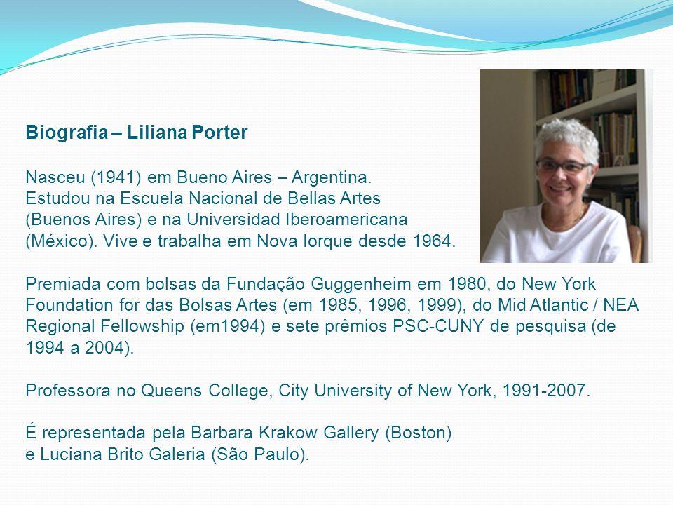 Biografia – Liliana Porter