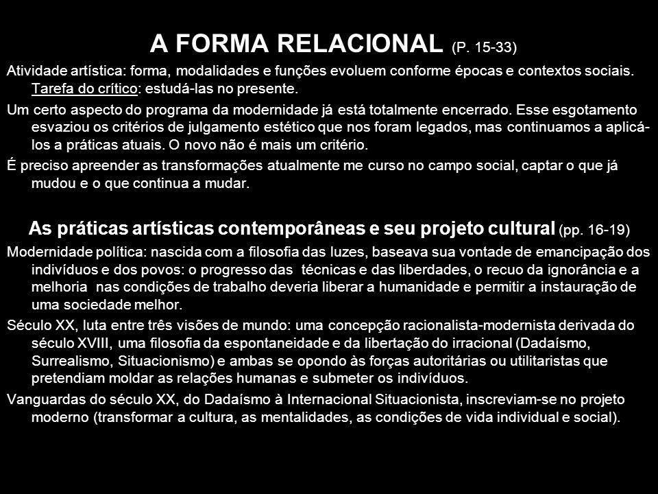 A FORMA RELACIONAL (P. 15-33)