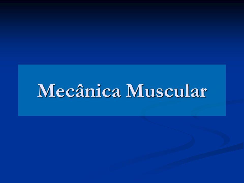 Mecânica Muscular