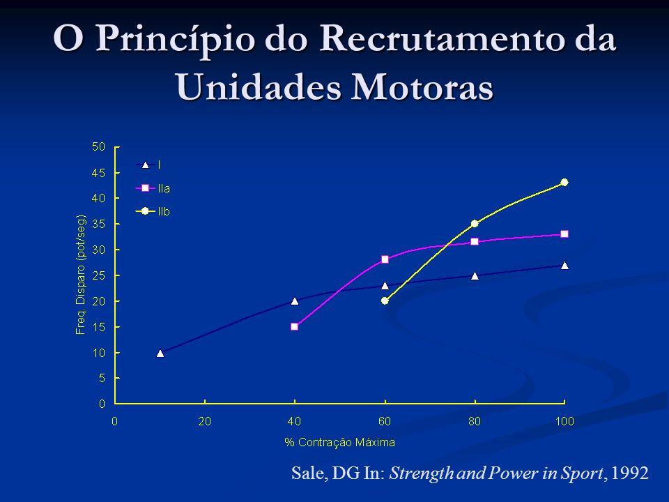 O Princípio do Recrutamento da Unidades Motoras