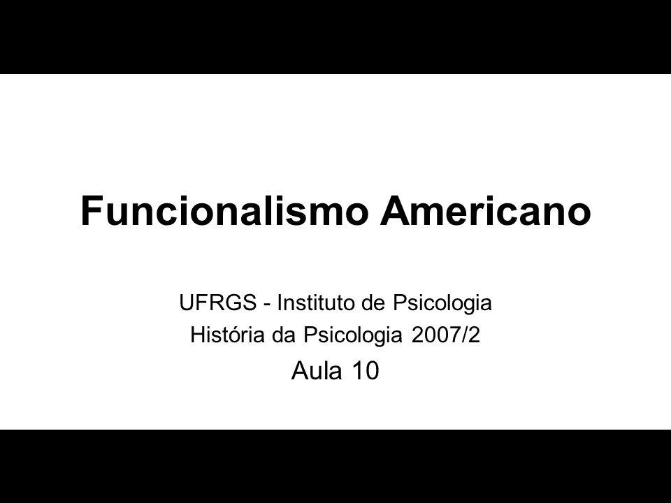 Funcionalismo Americano
