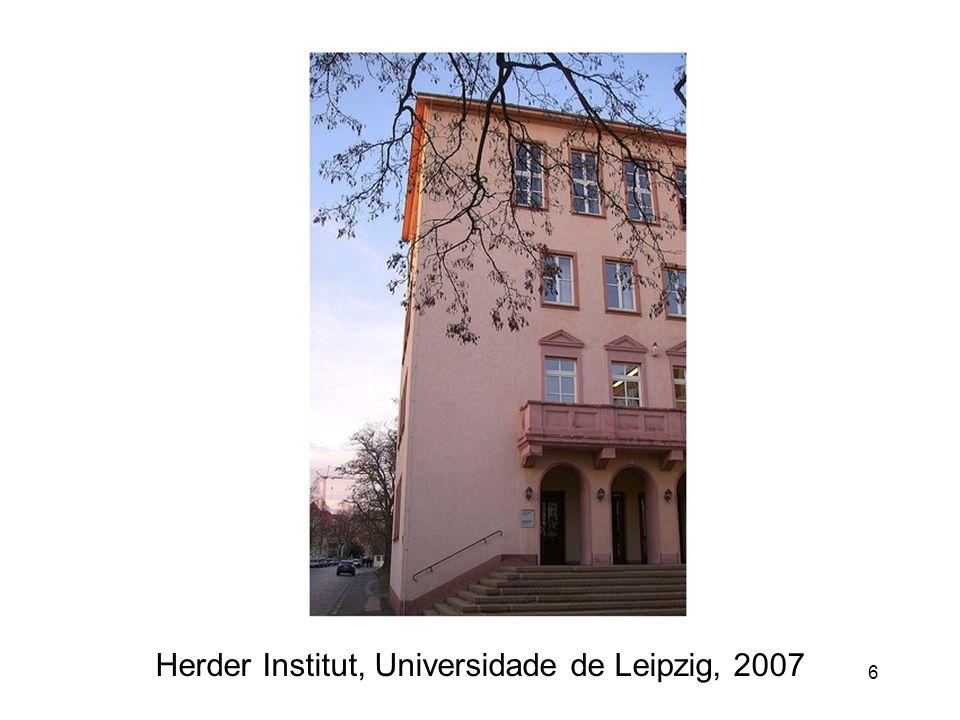 Herder Institut, Universidade de Leipzig, 2007