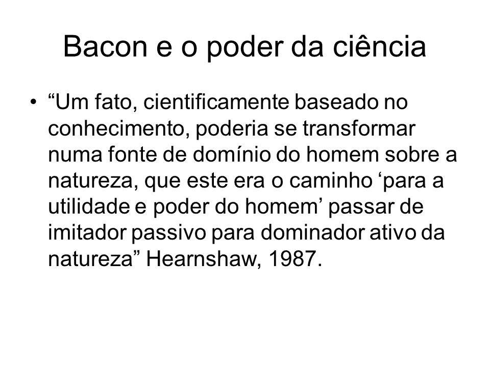 Bacon e o poder da ciência