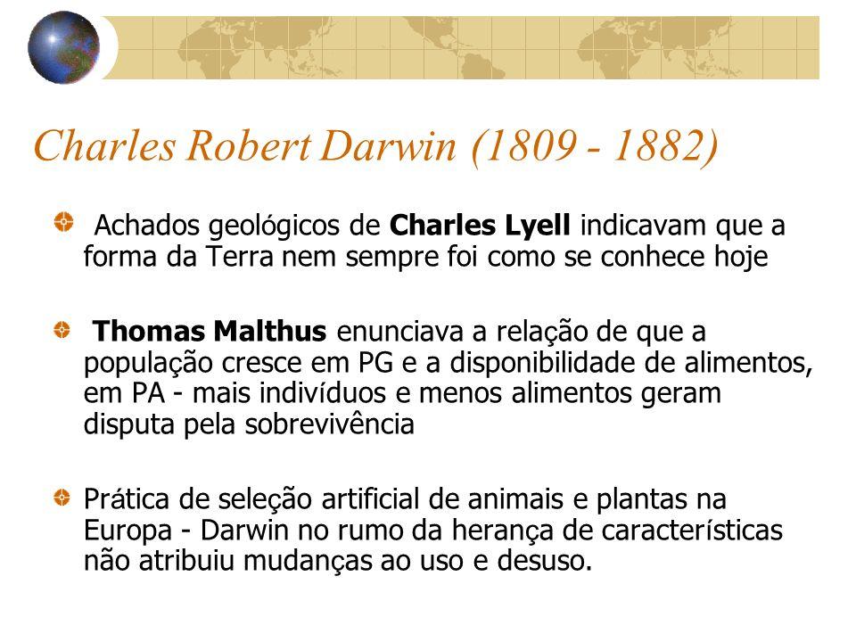 Charles Robert Darwin (1809 - 1882)