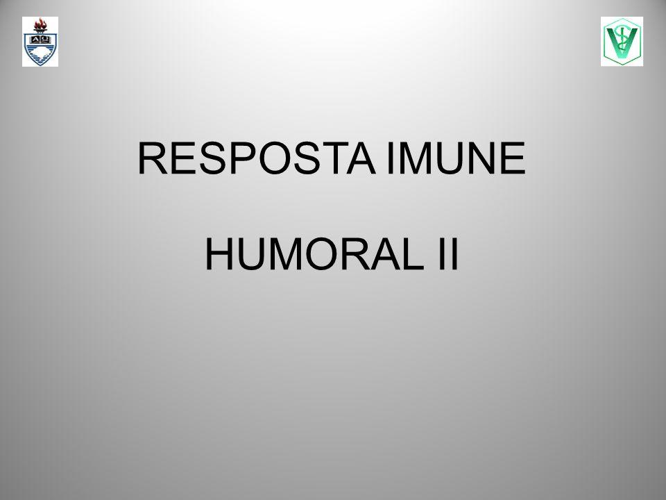 RESPOSTA IMUNE HUMORAL II