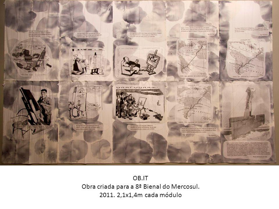 Obra criada para a 8ª Bienal do Mercosul.