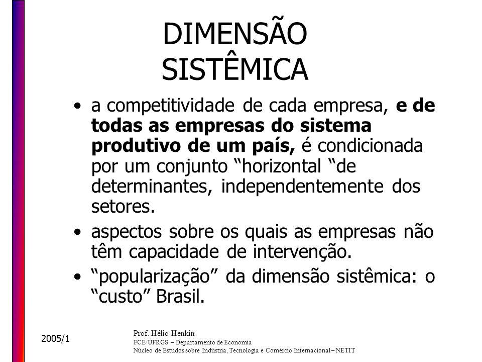 DIMENSÃO SISTÊMICA