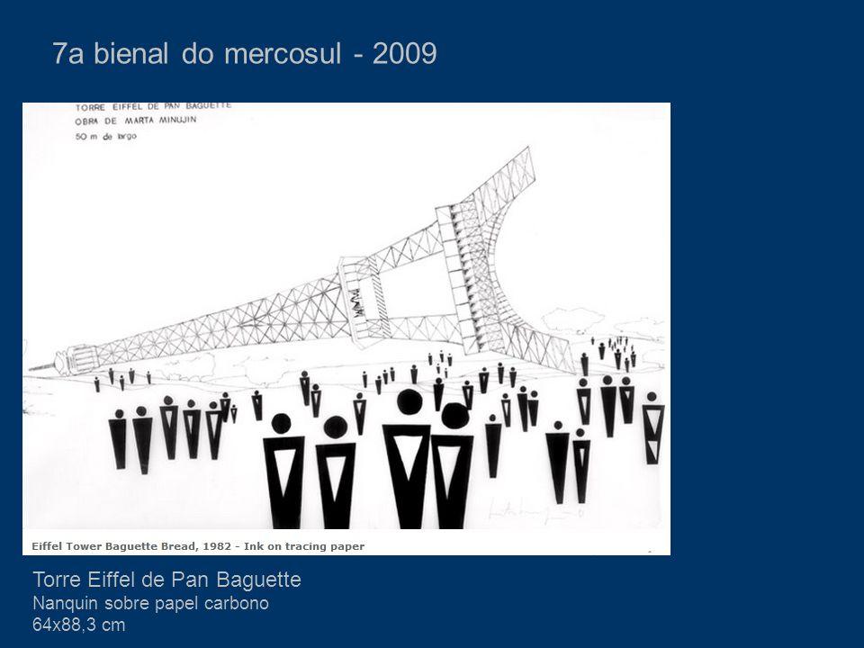 7a bienal do mercosul - 2009 Torre Eiffel de Pan Baguette