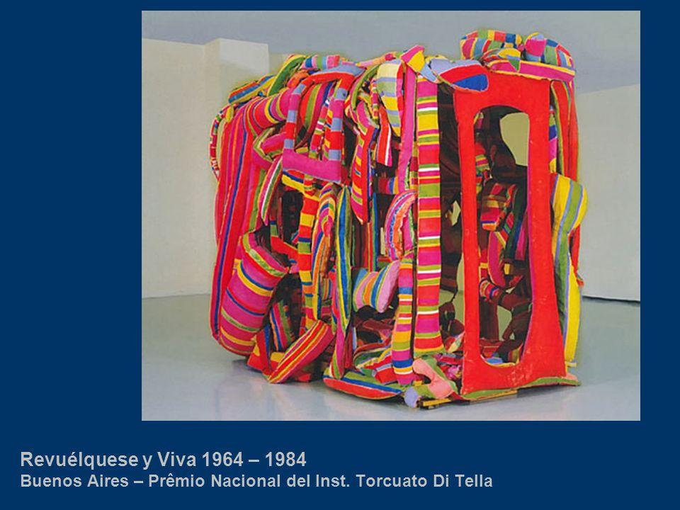 Revuélquese y Viva 1964 – 1984 Buenos Aires – Prêmio Nacional del Inst