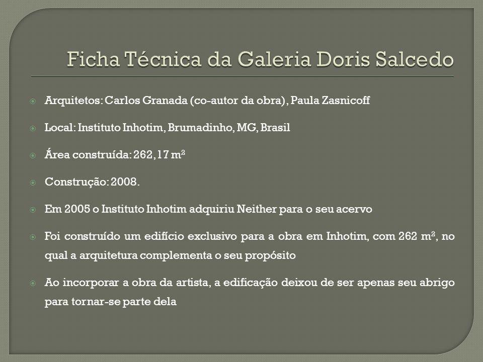 Ficha Técnica da Galeria Doris Salcedo