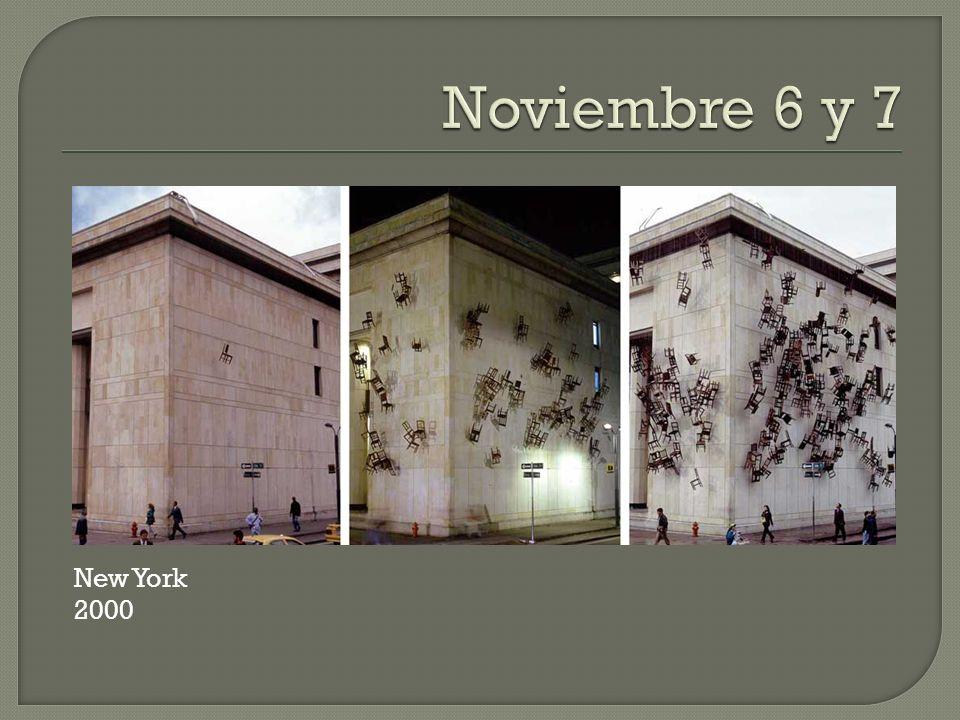 Noviembre 6 y 7 New York 2000