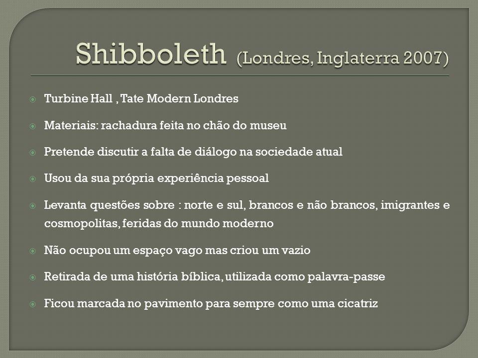 Shibboleth (Londres, Inglaterra 2007)
