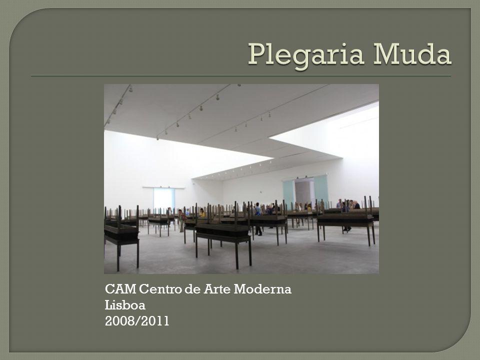 Plegaria Muda CAM Centro de Arte Moderna Lisboa 2008/2011