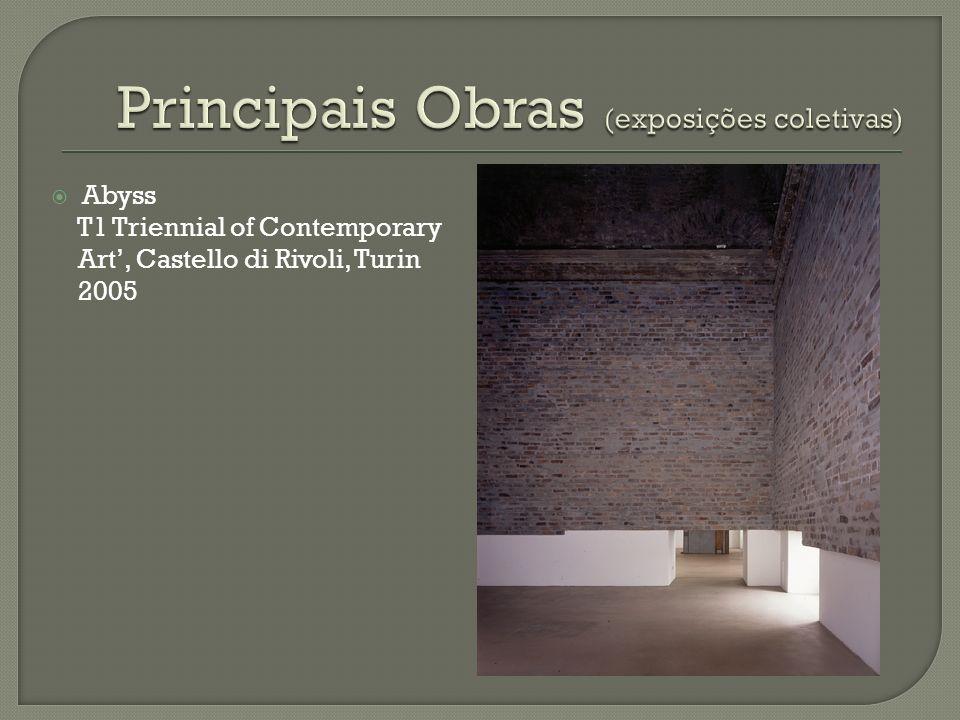Principais Obras (exposições coletivas)