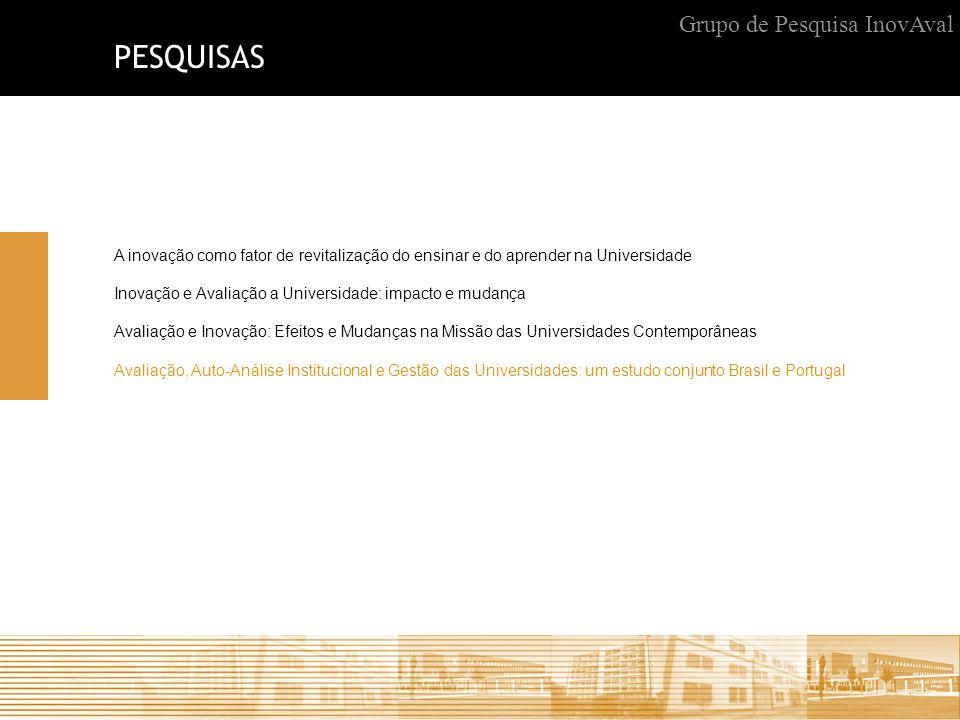 PESQUISAS Grupo de Pesquisa InovAval
