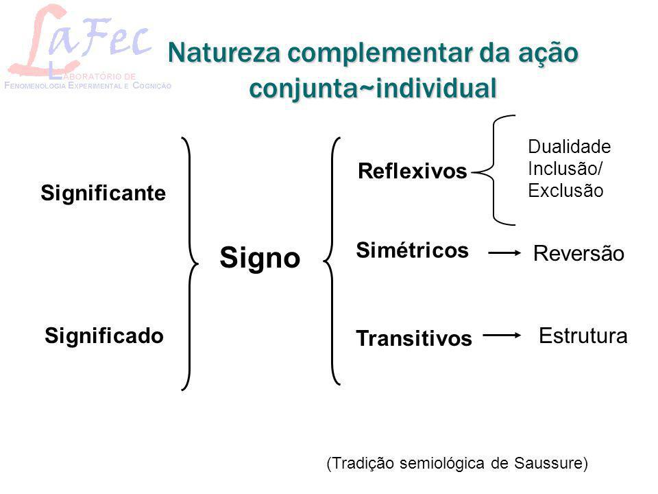 Natureza complementar da ação conjunta~individual