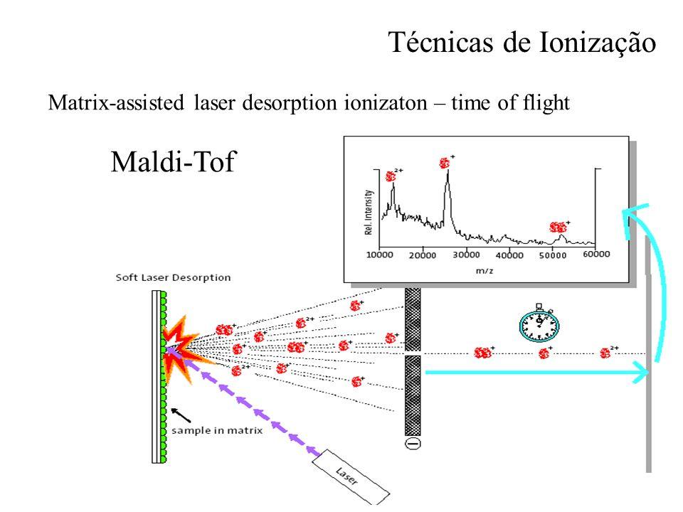 Mass Spectrometry Técnicas de Ionização