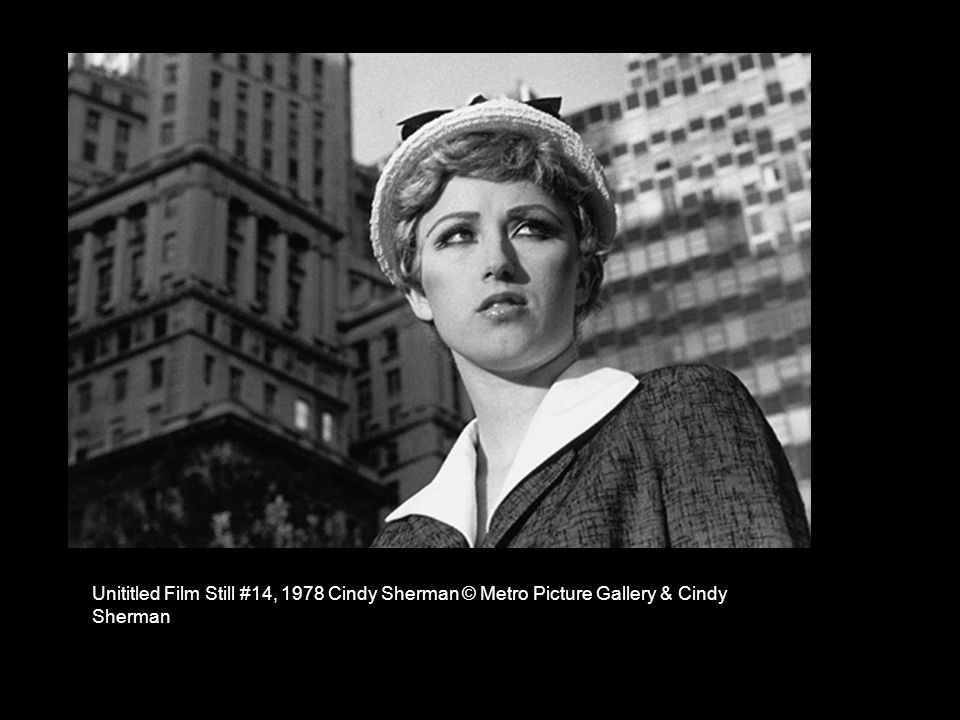 Unititled Film Still #14, 1978 Cindy Sherman © Metro Picture Gallery & Cindy Sherman
