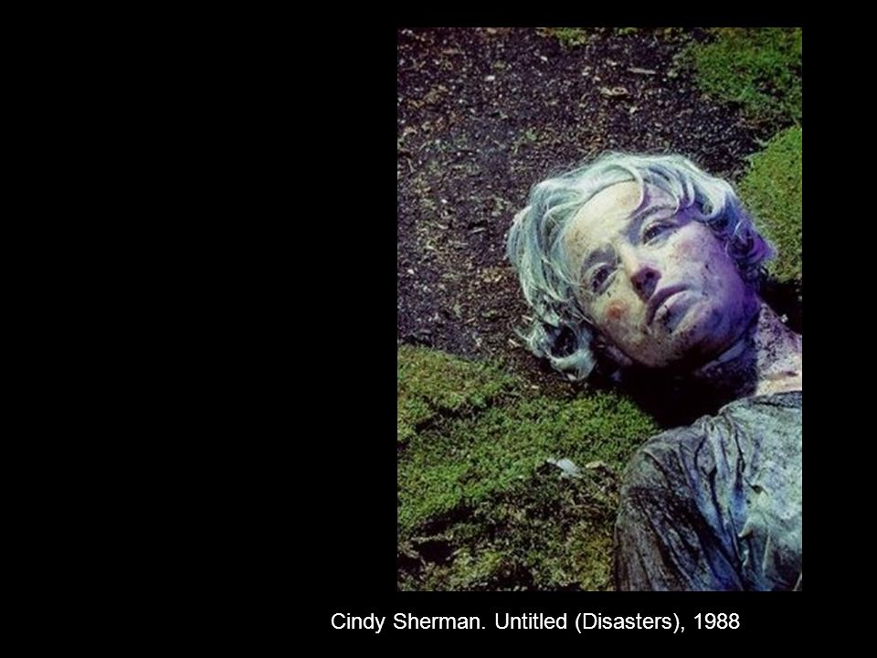 Cindy Sherman. Untitled (Disasters), 1988