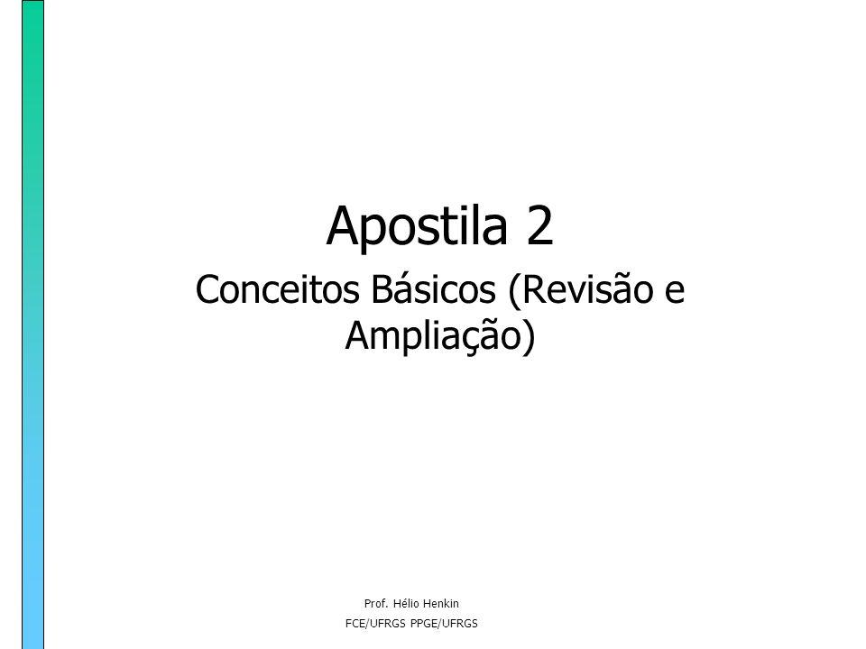 Apostila 2 Conceitos Básicos (Revisão e Ampliação)