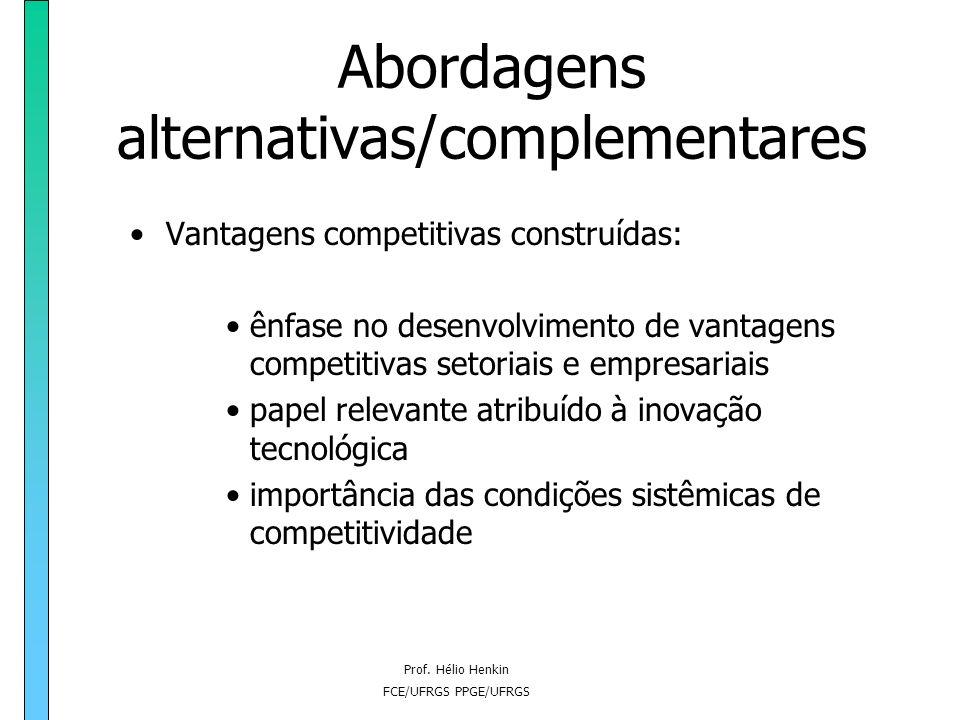 Abordagens alternativas/complementares