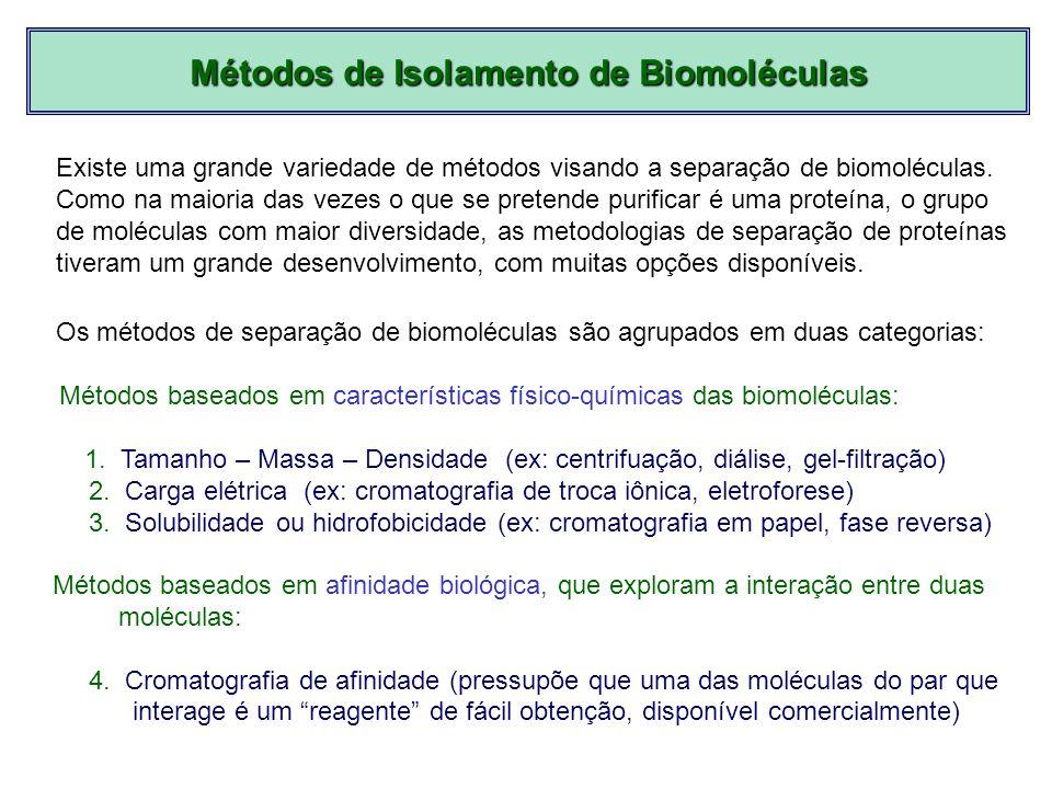 Métodos de Isolamento de Biomoléculas