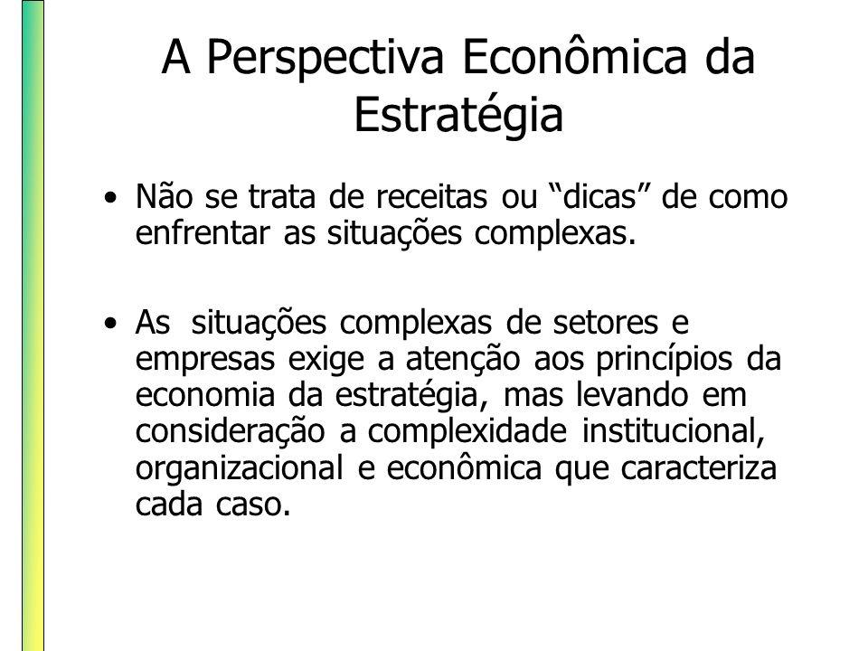 A Perspectiva Econômica da Estratégia