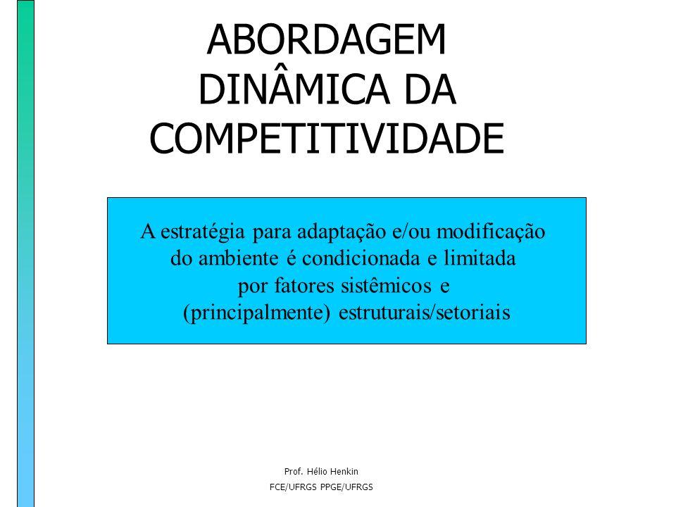 ABORDAGEM DINÂMICA DA COMPETITIVIDADE