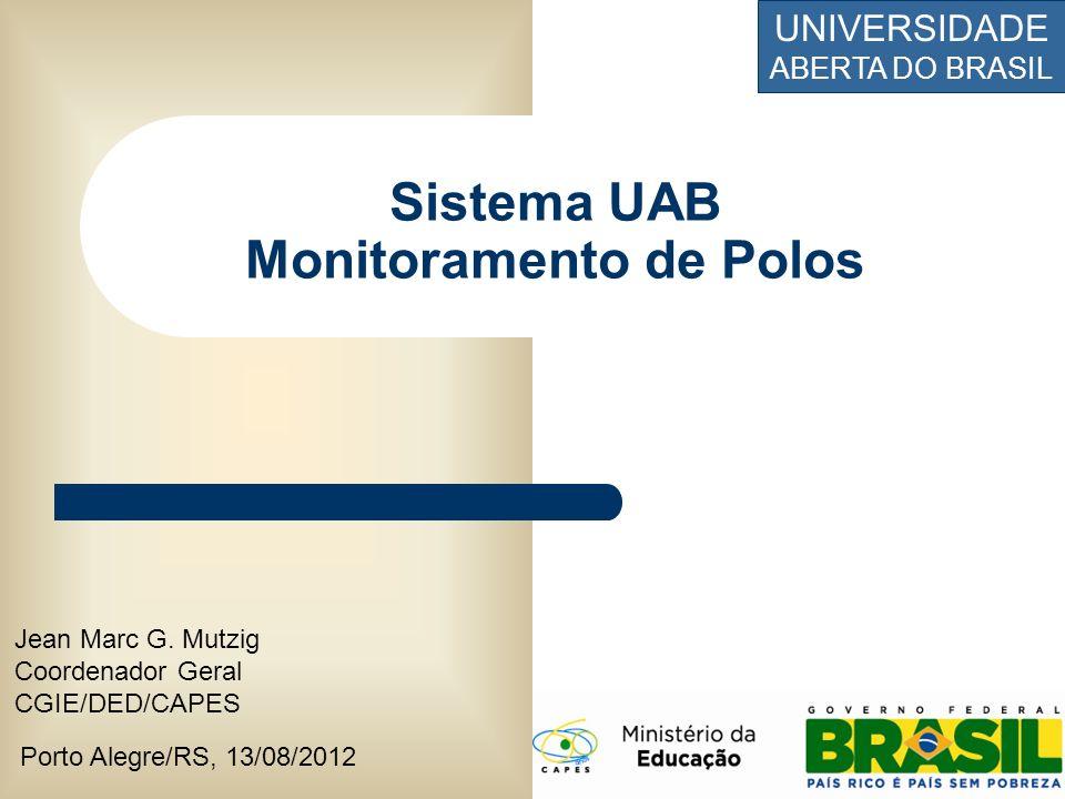 Sistema UAB Monitoramento de Polos