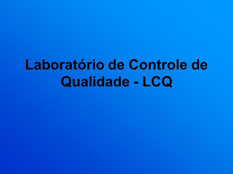 Laboratório de Controle de Qualidade - LCQ