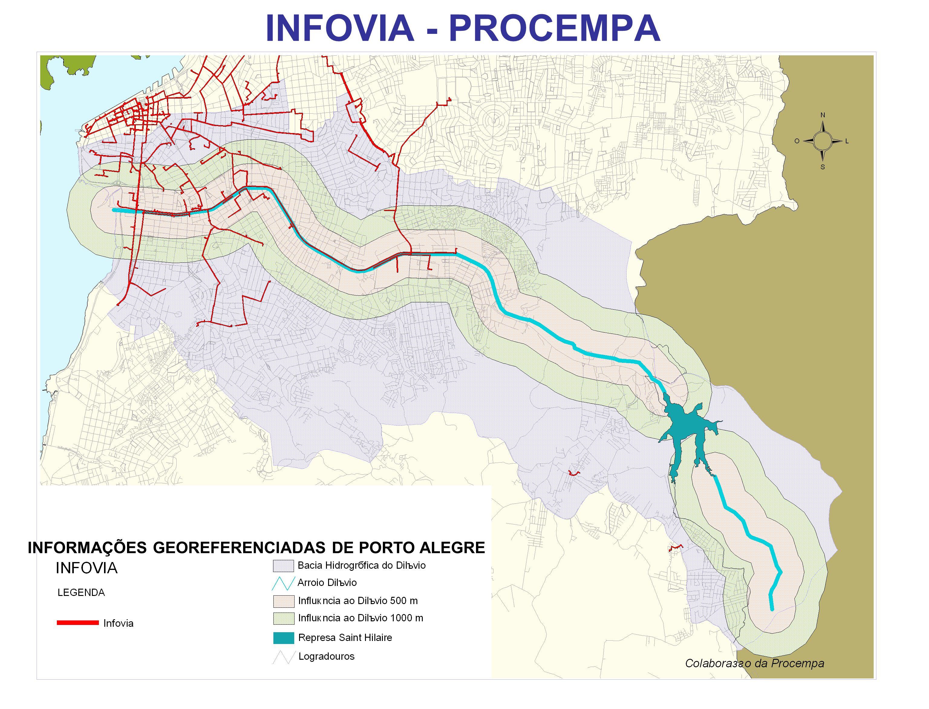 INFOVIA - PROCEMPA INFORMAÇÕES GEOREFERENCIADAS DE PORTO ALEGRE