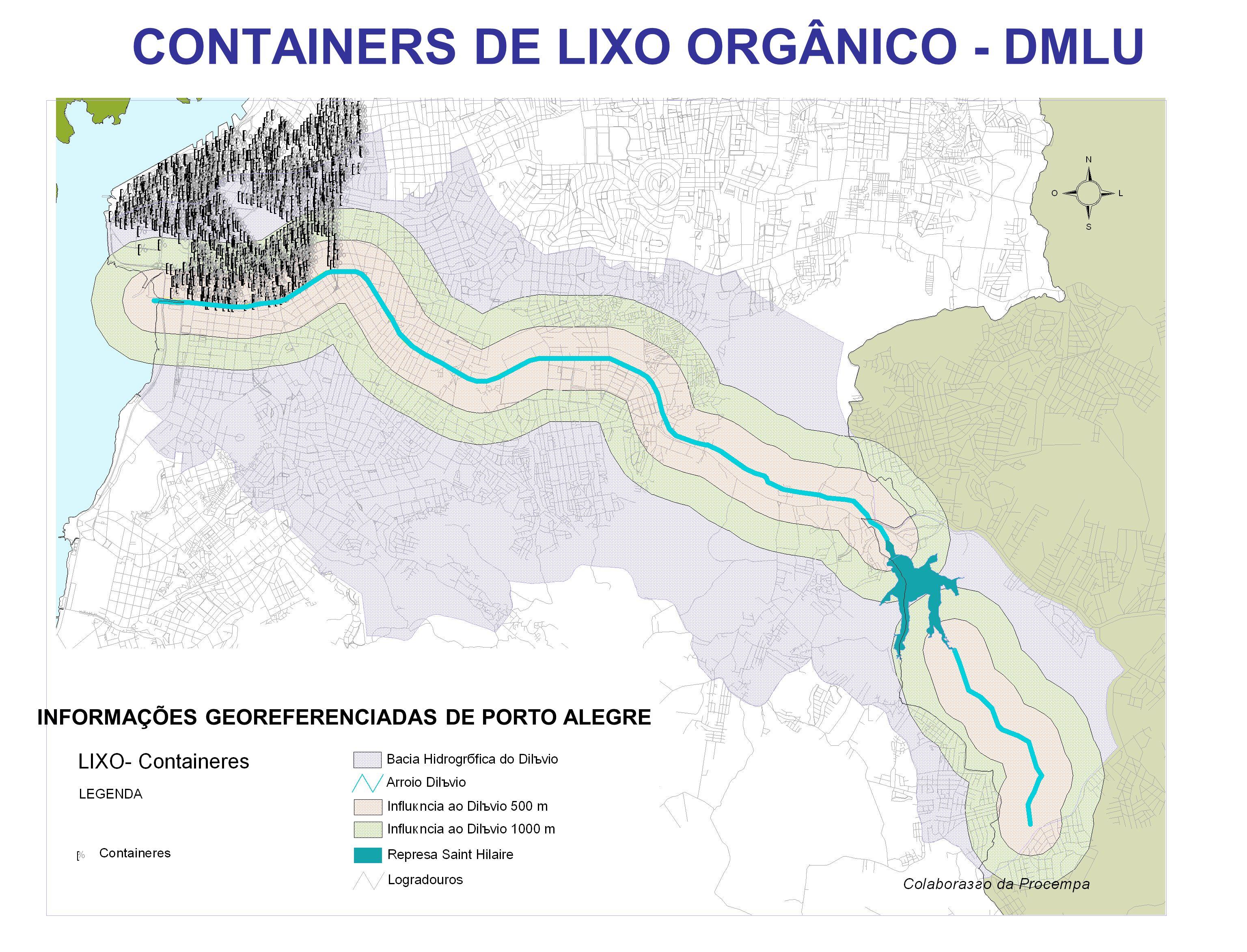 CONTAINERS DE LIXO ORGÂNICO - DMLU