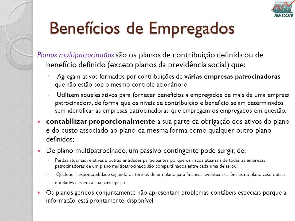Benefícios de Empregados