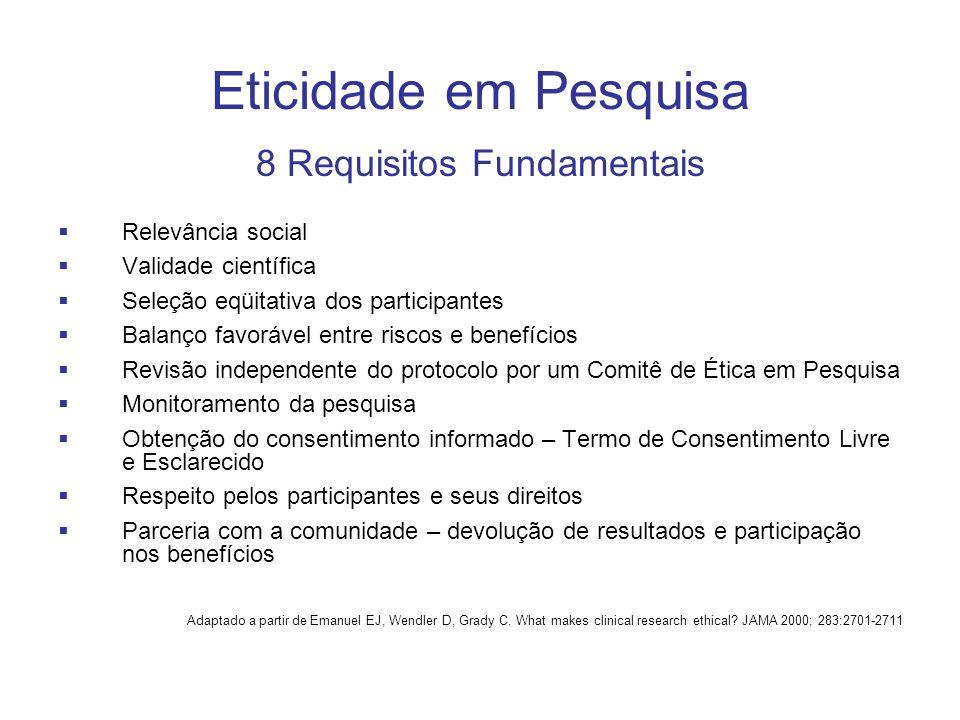 8 Requisitos Fundamentais