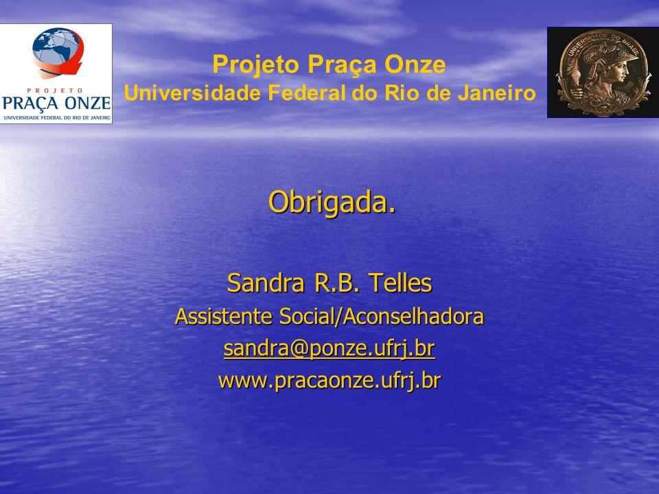Projeto Praça Onze Universidade Federal do Rio de Janeiro