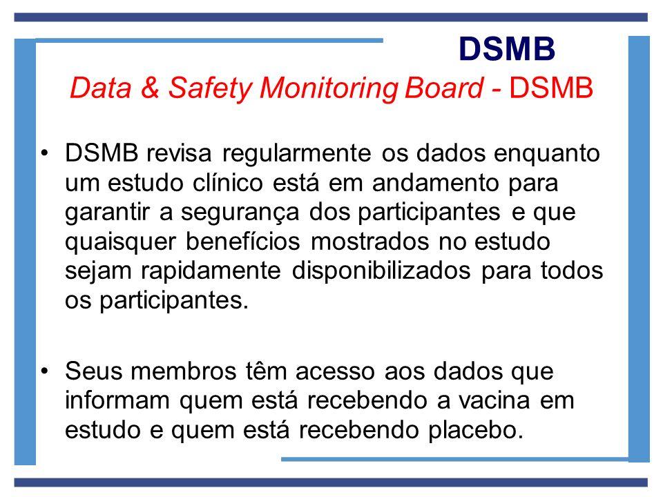 Data & Safety Monitoring Board - DSMB