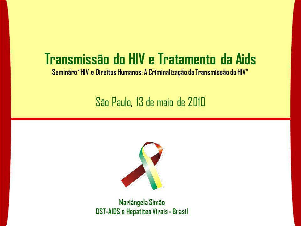 Transmissão do HIV e Tratamento da Aids