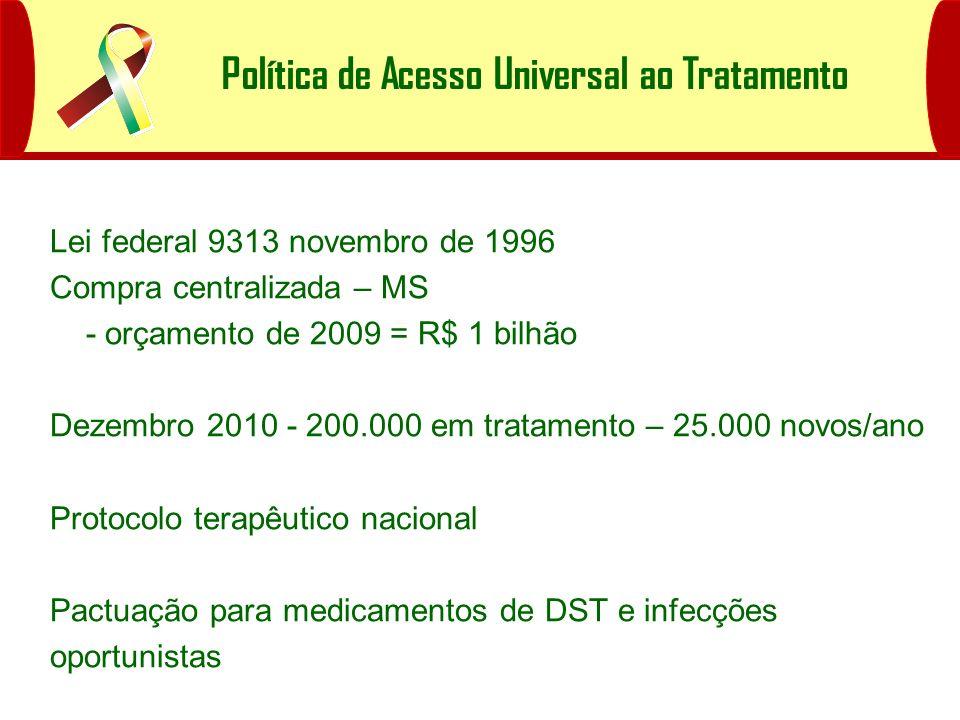 Política de Acesso Universal ao Tratamento